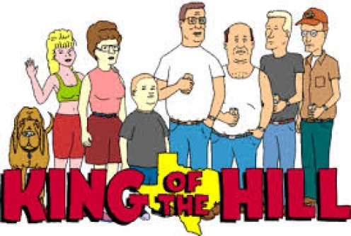 King of the Hill was a spin off from Beavis and Butt Head and it aired thirteen full seasons. Hank Hill and his family and close friends are the focal point of this comical cartoon.