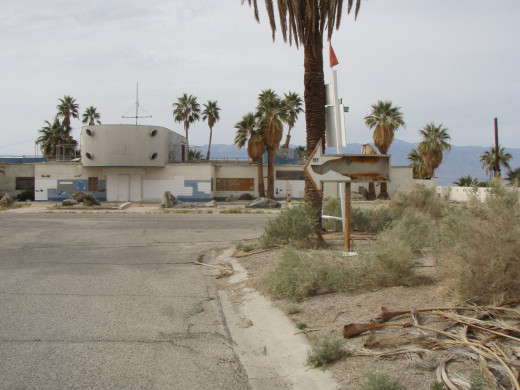 The North shore Yacht club in Feburary of 2009.
