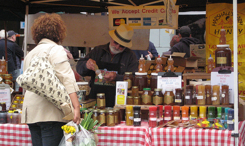 You can buy raw honey at Farmers Markets or natural food stores