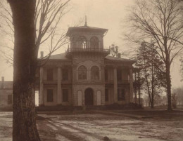 The Drish House in 1911, while still intact.