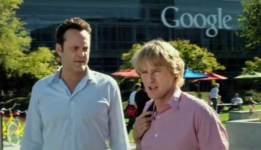 Vince Vaughn and Owen Wilson star in this movie about two middle aged sales men who find themselves displaced.  They take an internship at Google in the hopes that it will land them jobs with the internet information giant.