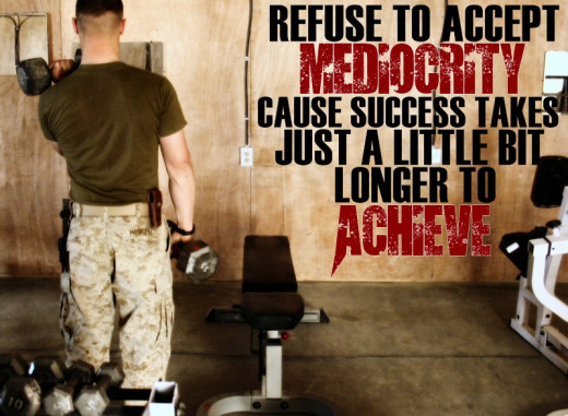 Motivational Quotes For Exercise/Workout (Refuse to accept mediocrity)