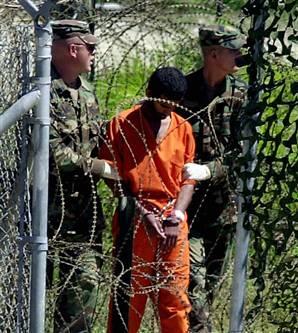 Detainee at GITMO