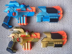 The Laser Tag Multiplayer Game Set for Home Use is the Best Toy for Kids