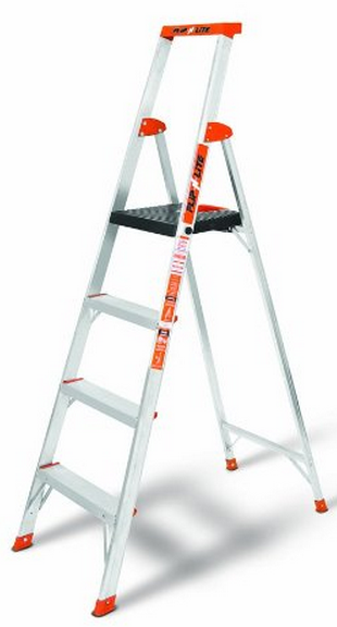 Little Giant 15270-001 Flip-N-Lite 300-Pound Duty Rating Platform Stepladder