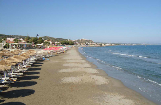 Santa Marina is a tourist attraction of the Chania region, with organized beaches, clean waters and good nightlife.