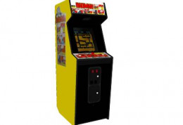 The Bagman upright arcade cabinet