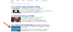 Why are my video hubs thumbnails blurry on Google search pages?