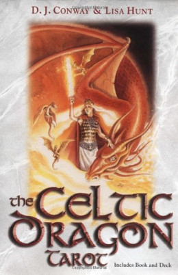 The Celtic Dragon Tarot by D.J. Conway (Author), Lisa Hunt (Artist)