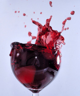 Do you know how many calories are in the splash of your favorite red wine?