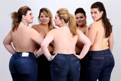 "Throw Away Your ""fat"" Jeans and Get Plus Size Jeans That Fit Your Sexy Curves"
