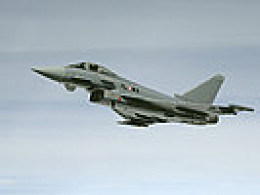 The Eurofighter. You don't want to see this in your rearview mirror.
