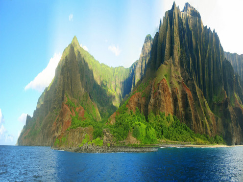 Na Pali Coast, Hawaii USA