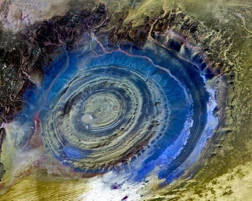 Eye of the Sahara, Mauritania