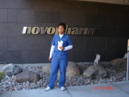 Me as a Pharm Assistant