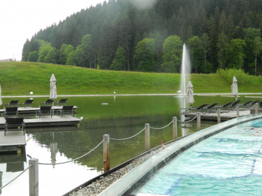 Relaxing here in the spa was awesome !