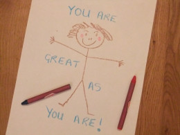 You are great as you are..
