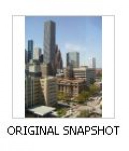 "You begin your poster-making by selecting the original, small, snapshot made with your ordinary digital camera. This image began as a ""JPEG"" format image and was later converted to the ""TIFF"" format"