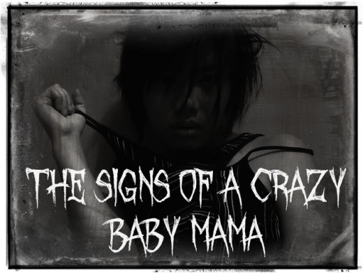 "This is a Creative Commons image that I just love for this hub on ""Psycho Crazy Baby Mama Drama"". I added special ""Grunge"" effects to the photo and creepy text to match the topic of the hub."