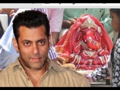Bollywood Film Star Salman Khan asistir a un festival