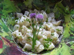 Fresh herby potato salad recipe: a seasonal delight