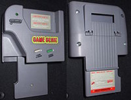 game genie for the game boy, its just that big