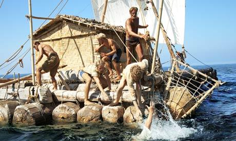 Rescue at sea isn't easy in Kon-Tiki