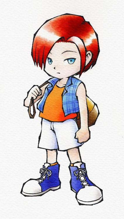 "Nami of ""Harvest Moon: A Wonderful Life"""