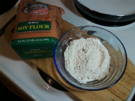 Soy Flour is Used