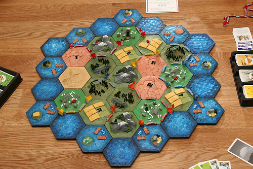 3D Catan(!) by Jon Stefansson on Flickr