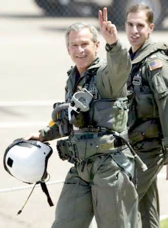 Hey!  The man can fly a fighter jet AND got stuff passed with no opposition while the opposing party controlled both houses.  He's magic!