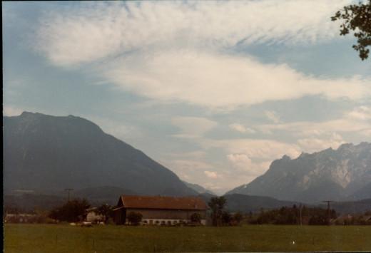 Entering Salzburg