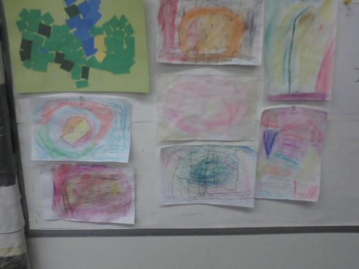 kindergarten O'Keeffes