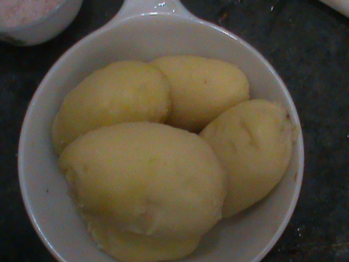 Boiled Potatoes, Notorious food (but the fact is something different)