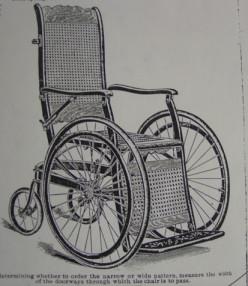 Sears Model 14032 Wheelchair, 1904