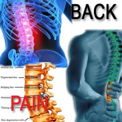 What helps relieve back pain?