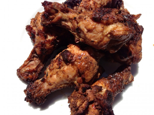 Grilled Wings and Drumettes
