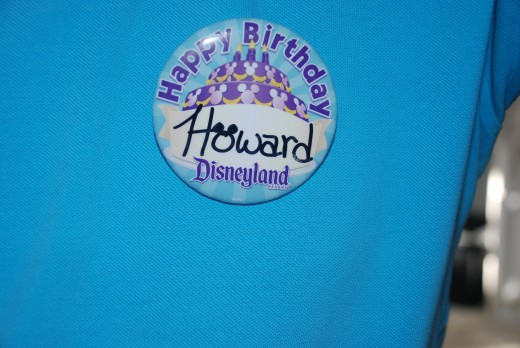 I got a free ticket and a name tag for my birthday.