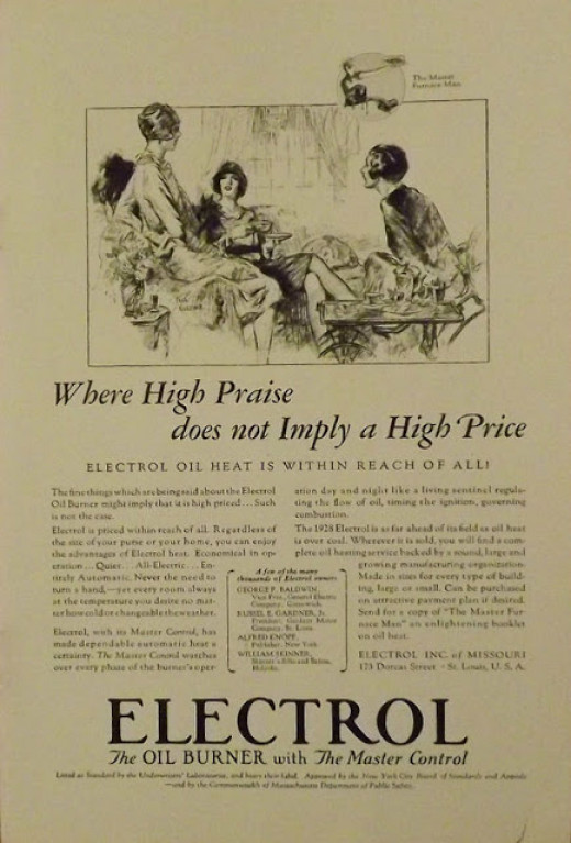 1928 Vintage Print Ad for Electrol