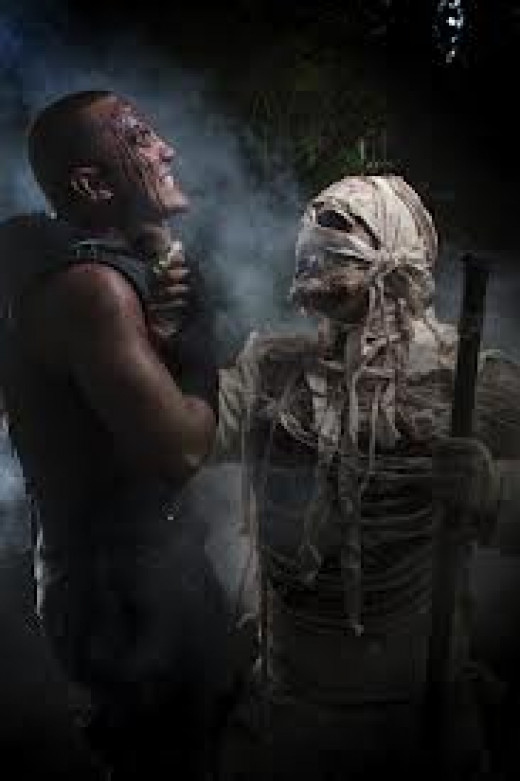 Monsters was a horror series made in the1980's and it features everything from mummy's and Frankenstein to ghosts and demons.