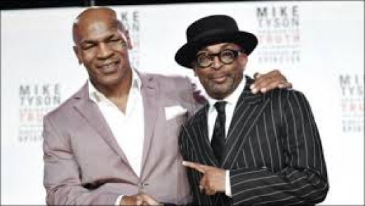 Spike Lee helped produce The Undisputed Truth which is Mike Tyson bearing his soul on broadway.