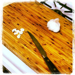 Chopping Garlic is my favorite thing to chop in the kitchen. Mortars and Pestles are great for making Garlic Paste.
