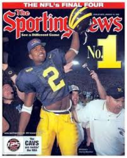 Charles Woodson played college ball for the Michigan Wolverines and he is one of the best defensive players in collegiate history.