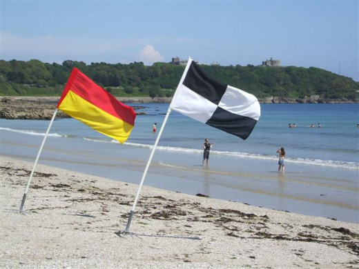 Things to do in Falmouth, Cornwall: Gyllyngvase Beach has a lifeguard service.