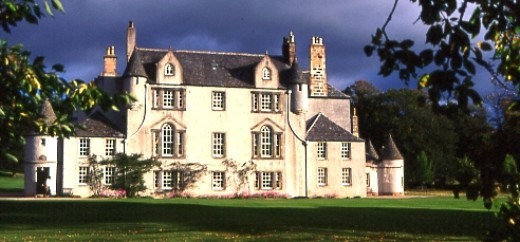 Leith Hall - one of the most haunted houses in Scotland