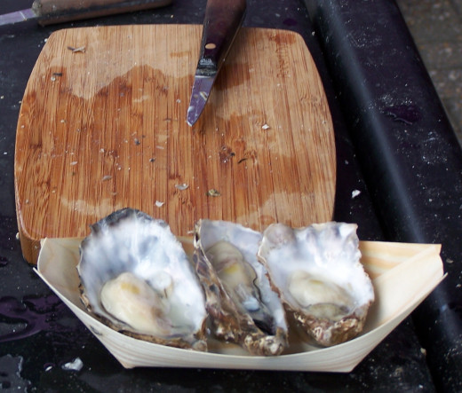 Things to Do in Falmouth: Oyster Festival in Cornwall, October.