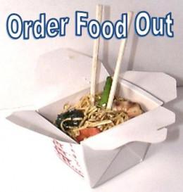 Order take out food.
