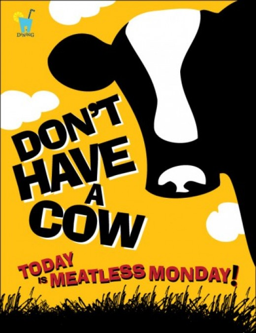 Meatless Monday Poster