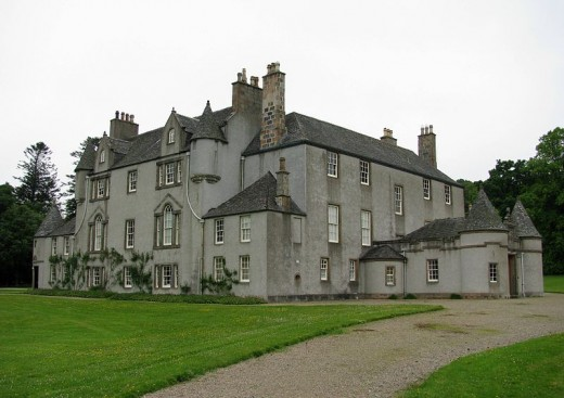 Leith Hall in Scotland has a number of ghosts around the house and grounds.