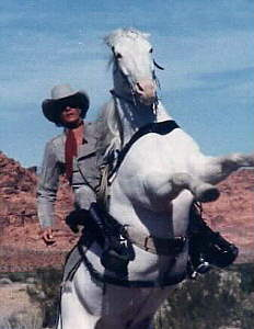 Klinton Spilsbury played the masked man in the ill-fated The Legend of The Lone Ranger in 1981.
